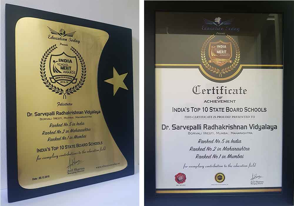 Dr  S  R  International School Borivali | Best International