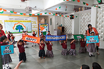 Special Assembly for Independence Day – Std. 1